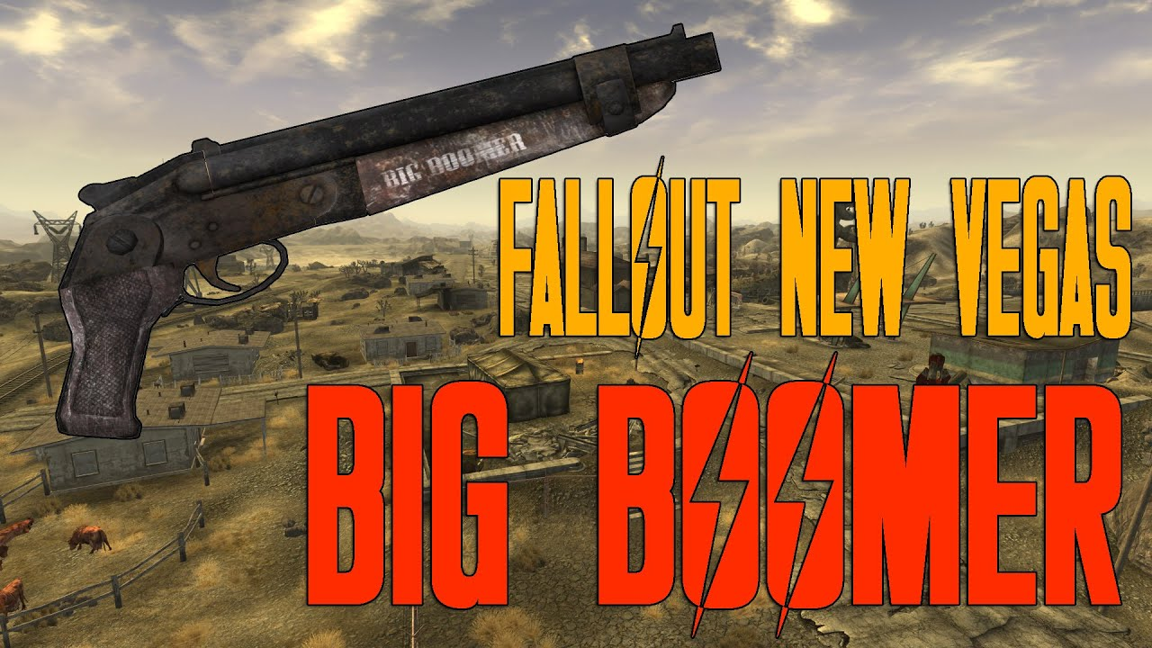 Fallout New Vegas Rare Weapon And Armor 1 Big Boomer Youtube