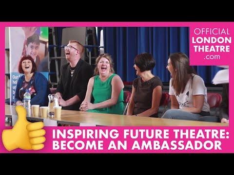 Inspiring Future Theatre – sign up to be an ambassador!