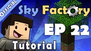 Minecraft Sky Factory Official Tutorial 22 - ME Terminal Applied Energistics
