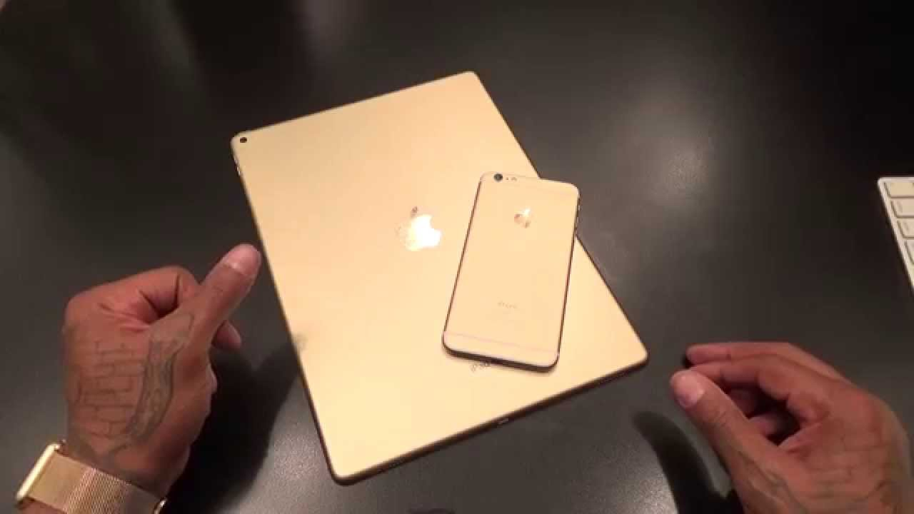 ipad pro gold unboxing and first impressions youtube. Black Bedroom Furniture Sets. Home Design Ideas