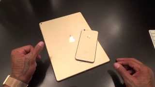 iPad Pro Gold Unboxing and First Impressions