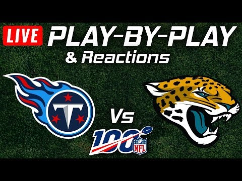 Titans Vs Jaguars | Live Play-By-Play & Reactions