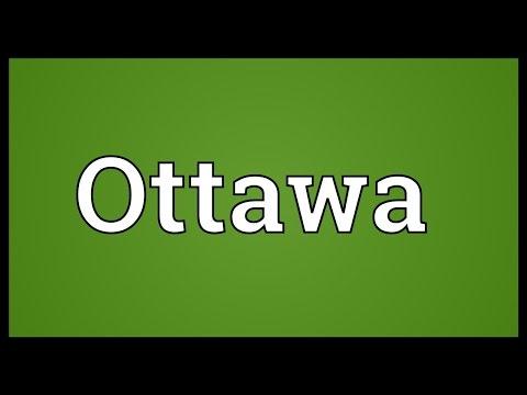 Ottawa Meaning
