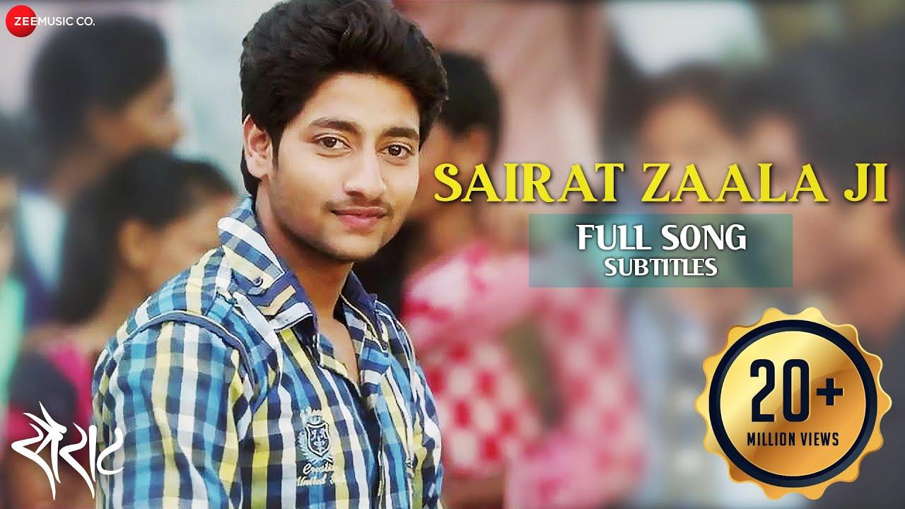 Download Sairat Zaala Ji with Subtitles - Official Full Song   Ajay Atul   Nagraj Popatrao Manjule