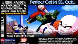 (Unreleased) Perfect Cell Vs SSJ Goku