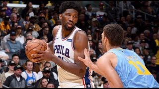 Joel Embiid Full Game Highlights vs Lakers! (11/15/2017) - 46 Pts, 15 Rebs, 7 Asts & 7 Blks!