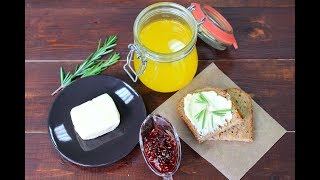 Как сделать Сливочное Масло и Топленое Масло/ Homemade Butter / Clarified Butter