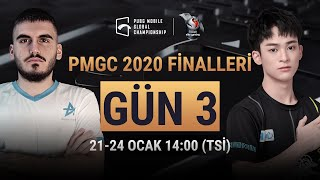 [TR] PMGC Finalleri 3. Gün | Qualcomm | PUBG Mobile Global Championship 2020