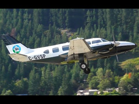 Piper PA-31 Navajo Takeoff