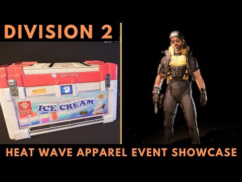 Heat Wave Apparel Event How To Unlock 2 New Masks And The Diver Uniform The  Division 2