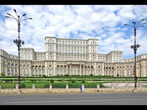 World's 2nd Largest Building, Ceausescu's Romanian Palace of Parliament