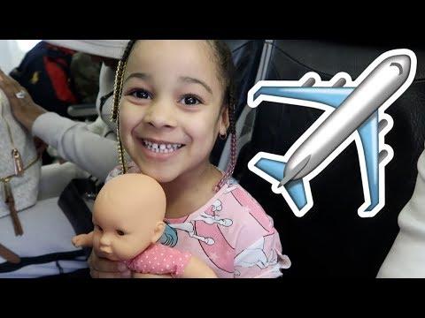 FamousTubeKIDS Take My Life Doll on a Plane to Barbados!