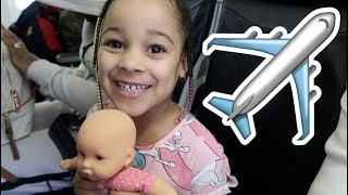 FamousTubeKIDS Take My Life Doll on a Plane to Barbados!