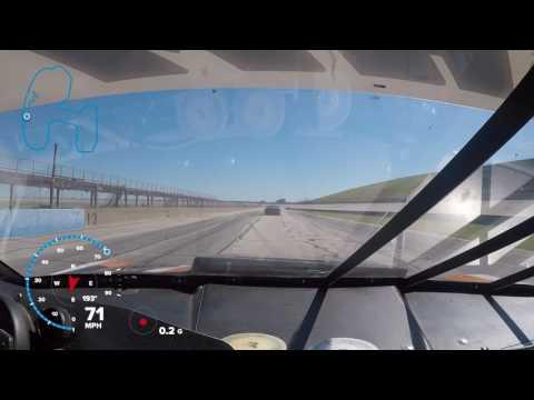 race car burnout