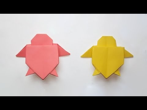 How To Make Origami Turtle - Easy Origami Turtle
