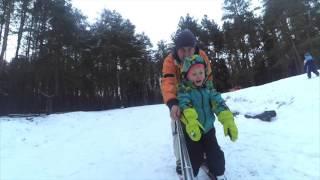Лыжи, тюбинг и немного сноуборда
