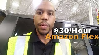 Amazon Flex App. Made $30/ hour completing a 5 hour block in 3 hours #VLOG 15