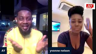 A MESSAGE FROM YVONNE NELSON TO NIGERIANS
