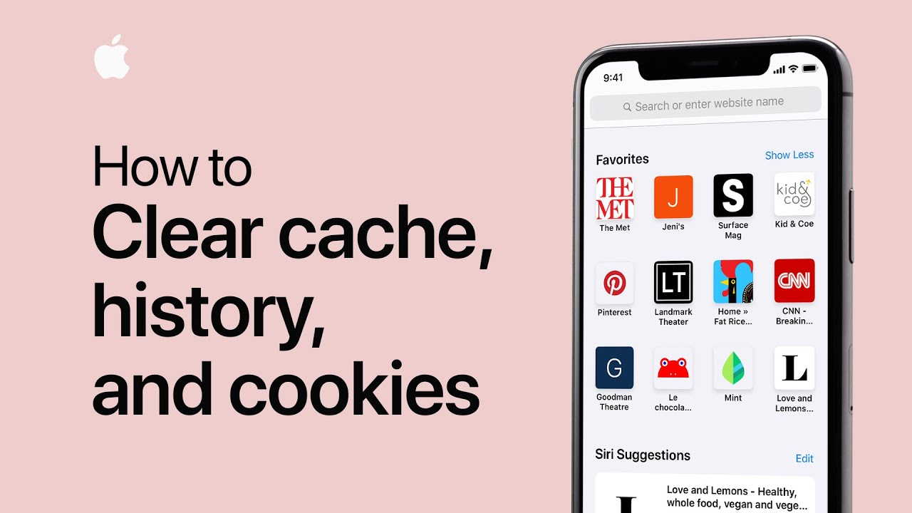 how to clear iphone search history how to clear cache cookies and history on your iphone or 18669