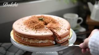 Kunafa Macaron Cake from dolchichocolate