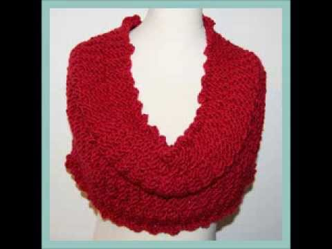 Adela Snood Cowl Cape Neck Scarf Textured Chunky Yarn Knitting