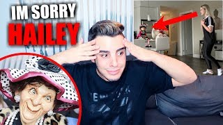 haunted doll prank gone wrong im sorry hailey reese