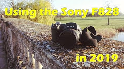Using the Sony F828 in 2019