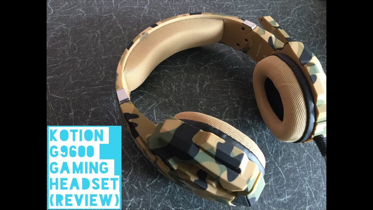 Kotion G9600 Gaming Headset Review Youtube