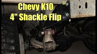 Chevy K10 Shackle Flip