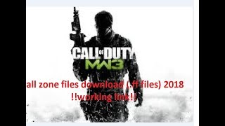 Mw 3 Couldn T Load Localization Txt как