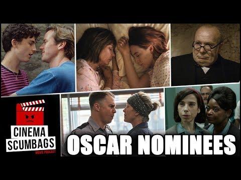 2017 OSCAR NOMINEES - Cinema Scumbags Podcast (#106)
