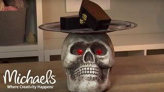 Create Your Own: Skull Pedestal | Michaels