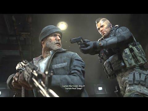 Soap Points Gun At Captain Price Modern Warfare 2 Remaster Cod Mw2
