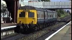 British Rail Scotrail-Falkirk Grahamston & Glasgow Queen St 1989