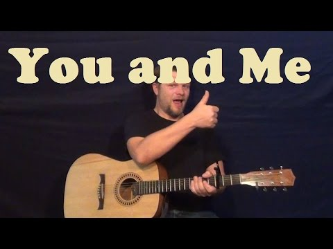 You and Me (Lifehouse) Guitar Lesson Easy Strum How to Play You and ...