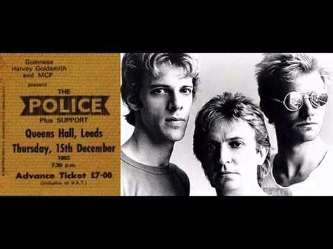 """THE POLICE - Leeds 15-12-83 """"Queen's Hall"""" UK (full show audio)"""