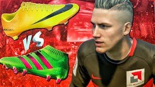 NIKE или ADIDAS ?! КАКИЕ БУТСЫ ВЫБРАТЬ ?! | FIFA 17 КАРЬЕРА ИГРОКА #2