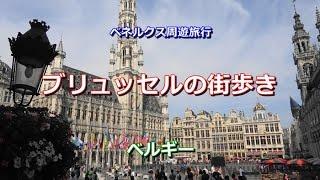 ベネルクス周遊 ベルギー 「ブリュッセルの街歩き」 Brussels, Belgium