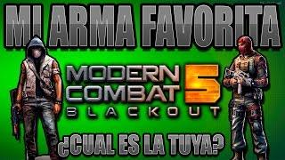 Modern Combat 5: Blackout - Mi Arma FAVORITA!! Jolt-MP [MC5]