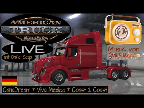 American Truck Simulator - Viva Mexico - Von Tucson nach Ensenada