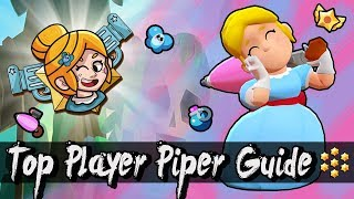 #1 PIPER GUIDE! Top Player Tips & Tricks │ How to be The BEST Sniper in Brawl Stars!