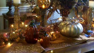 Thanksgiving/fall Dining Room Table Decor