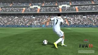 FIFA 11 PC - Cristiano Ronaldo Freestyle - HD
