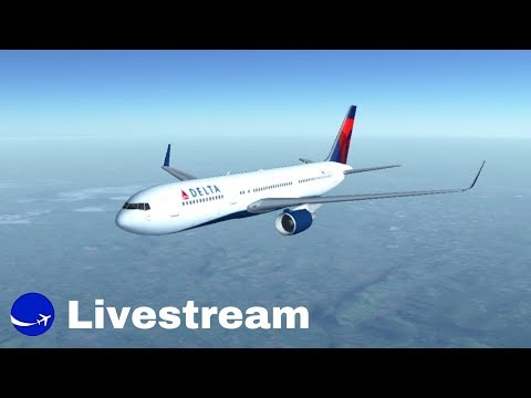 Infinite Flight   Albany-San Antonio   B742