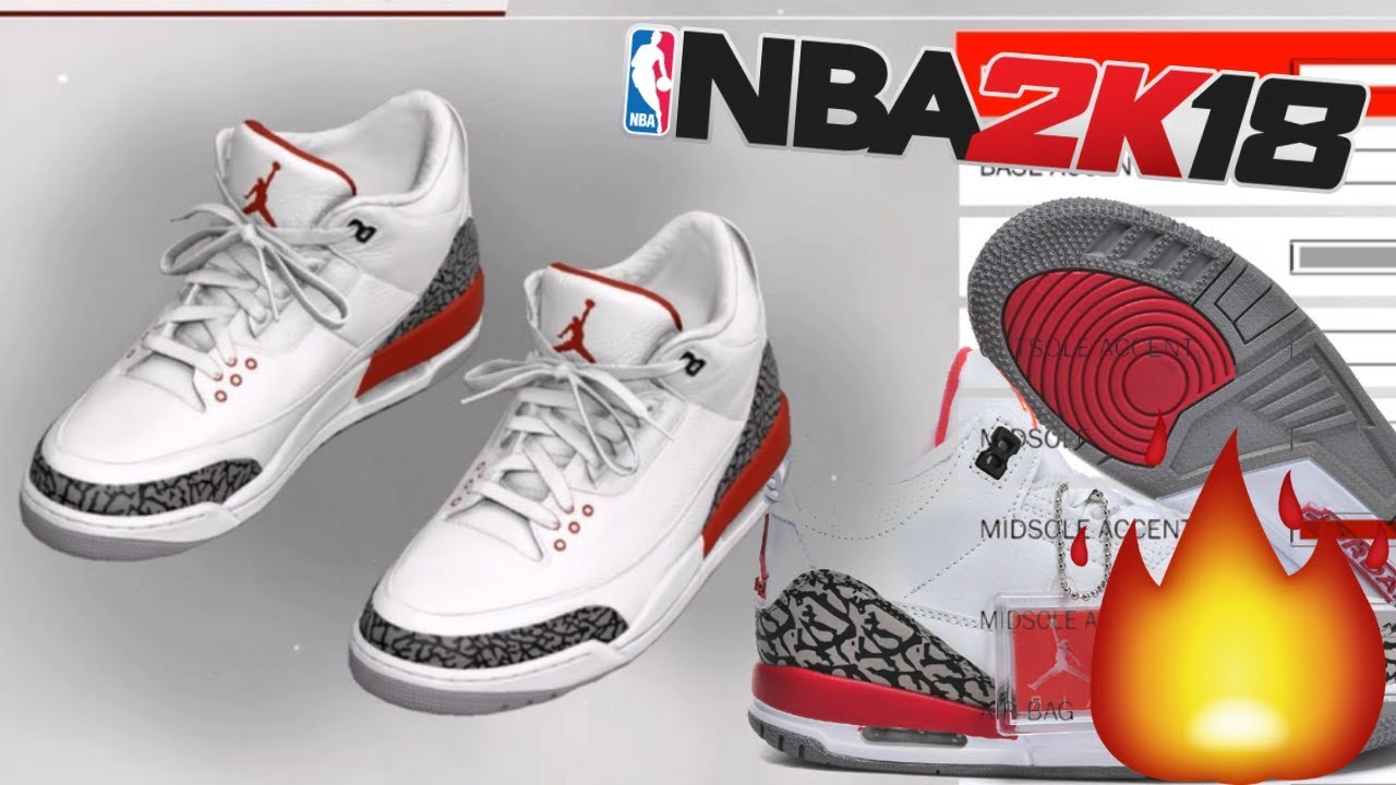 NBA 2K18 Shoe Creator | Air Jordan 3
