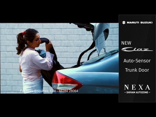 New Ciaz 2019 Auto-trunk door | Accessories | Shivam Autozone