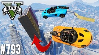 EXTREM HARTER ROCKET VOLTIC PARKOUR! (+DOWNLOAD) | GTA 5 - CUSTOM MAP RENNEN