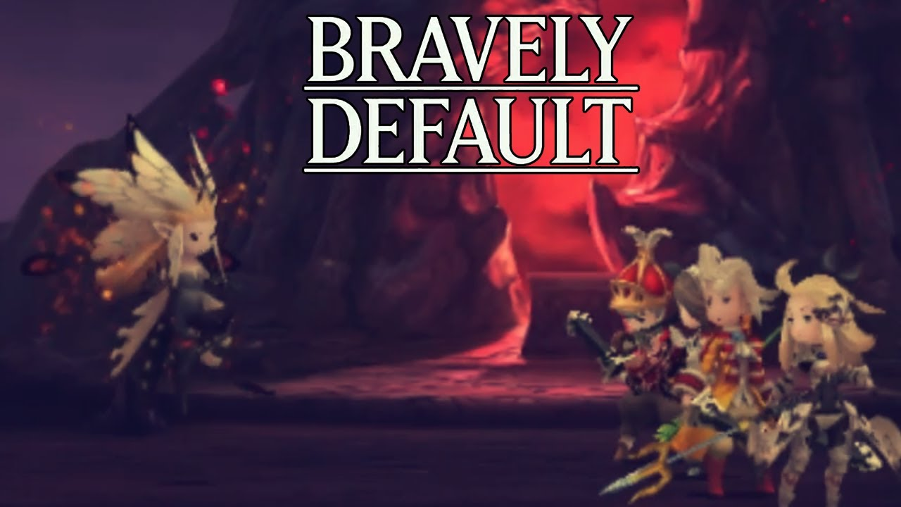 Let's Play Bravely Default Part 86 Airy True Form Boss Battle ...