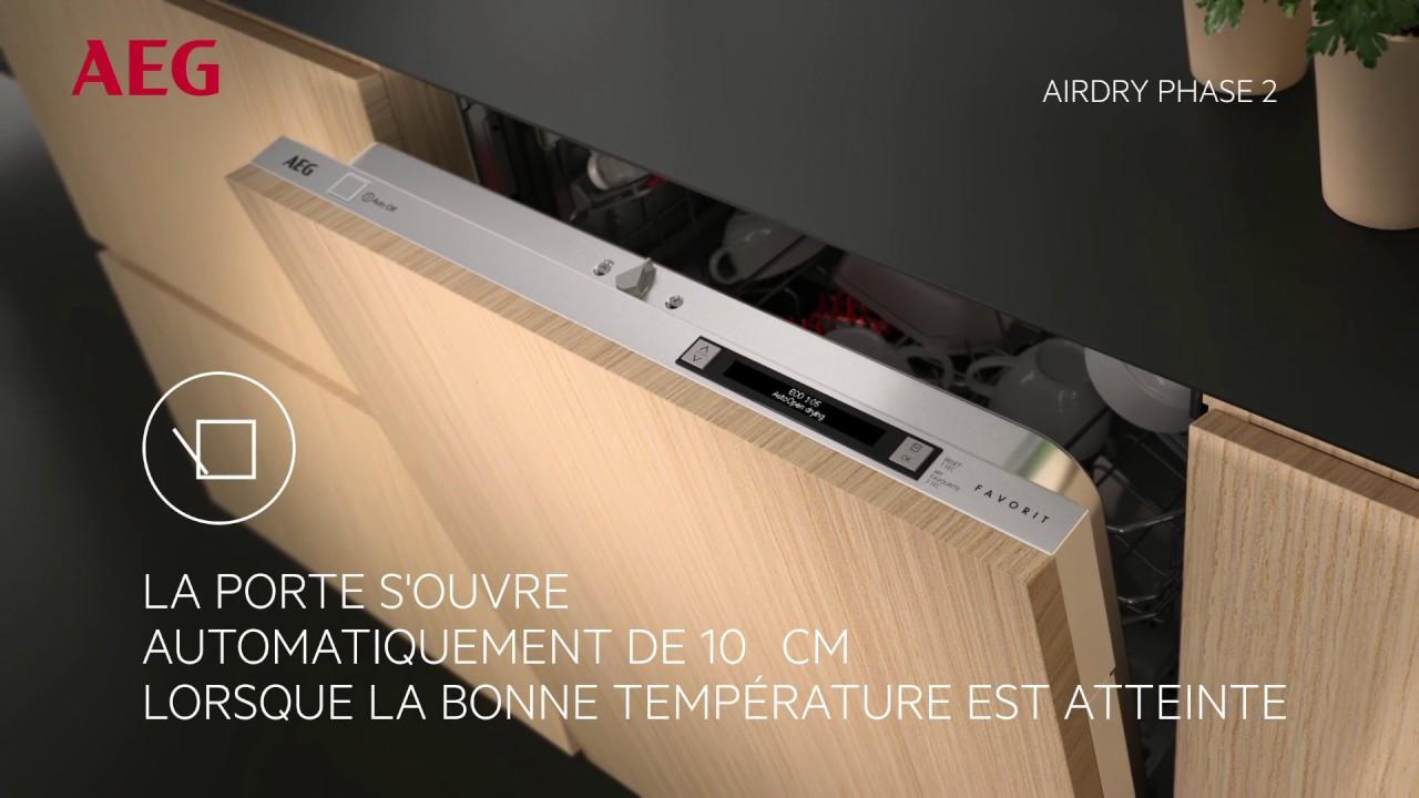 aeg ffb 53610 zw lave vaisselle vid o produit youtube. Black Bedroom Furniture Sets. Home Design Ideas