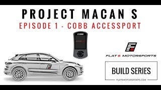 Project Macan S - Cobb Accessport Install with how-to guide (Episode 1)